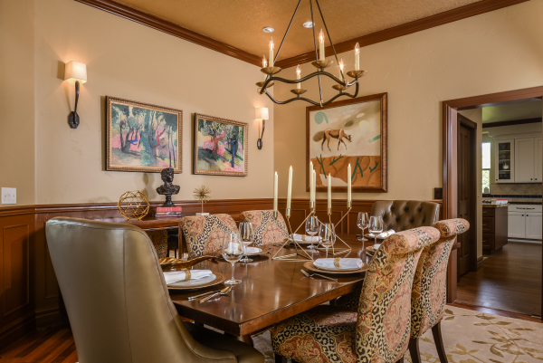 Modern Medieval Dining Room